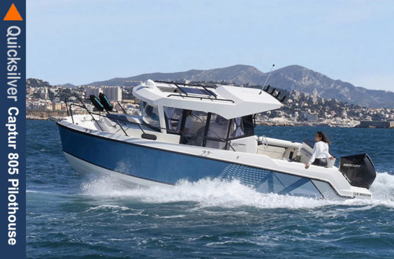 Favoriten Quicksilver Captur 805 Pilothouse Quicksilver Captur 805 Pilothouse