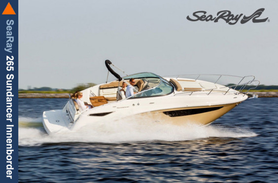 Favoriten SeaRay 265 Sundancer Innenborder + MerCruiser 4.5L SeaRay 265 Sundancer Innenborder + MerCruiser 4.5L