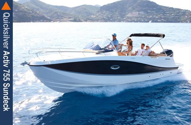 Favoriten Quicksilver Activ 755 Sundeck Quicksilver Activ 755 Sundeck